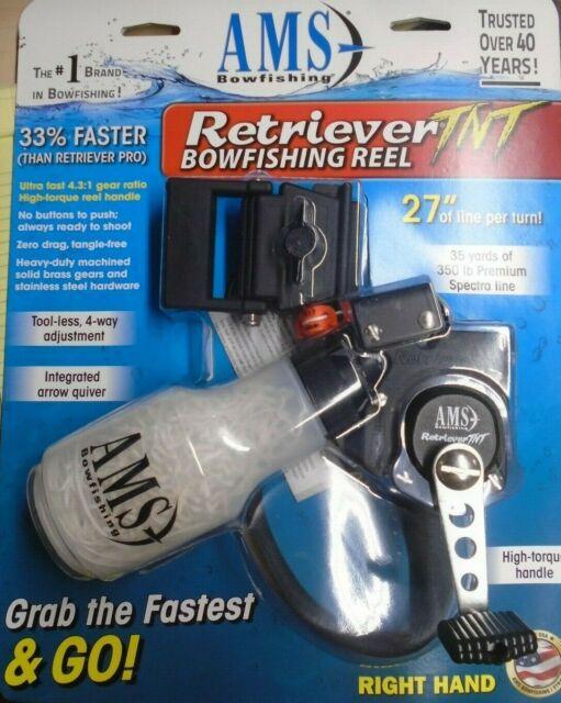 AMS Retriever TNT Tournament Bowfishing Reel bow fishing OFFERS ???