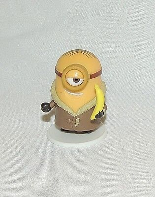 NEW Minion Surprise Mini Figures Minions 3pc Bored Silly Kevin Bob Stuart Coat