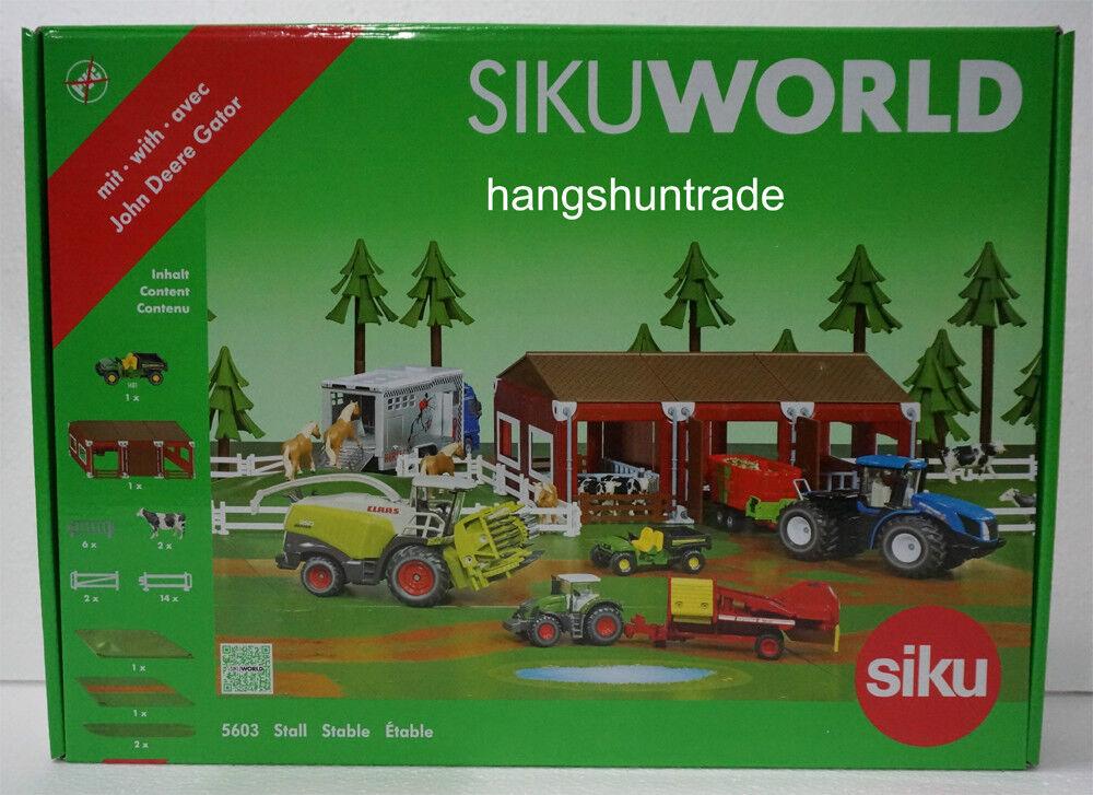 mejor reputación Siku Mundo 5603 estable Paisaje Set De Juego Juego Juego Con John Deere Gator Th 6x4 Gas Modelo  diseños exclusivos