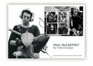GB 2021 - PAUL MCCARTNEY ROYAL MAIL IN THE STUDIO SILVER MEDAL COVER