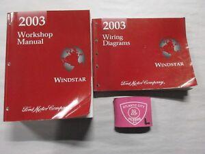 2003 FORD WINDSTAR SERVICE SHOP REPAIR MANUAL & WIRING ...