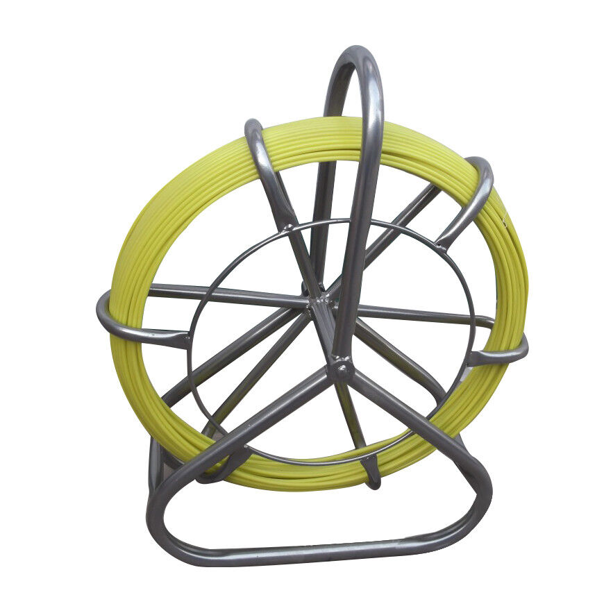 Duct Rodder Fish Tape Fiberglass Cable Running Rod Push Pull Rods Wire Puller
