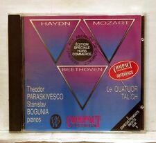 PARASKIVESCO, BOGUNIA, TALICH QT - MOZART, HAYDN & BEETHOVEN CALLIOPE CD NM