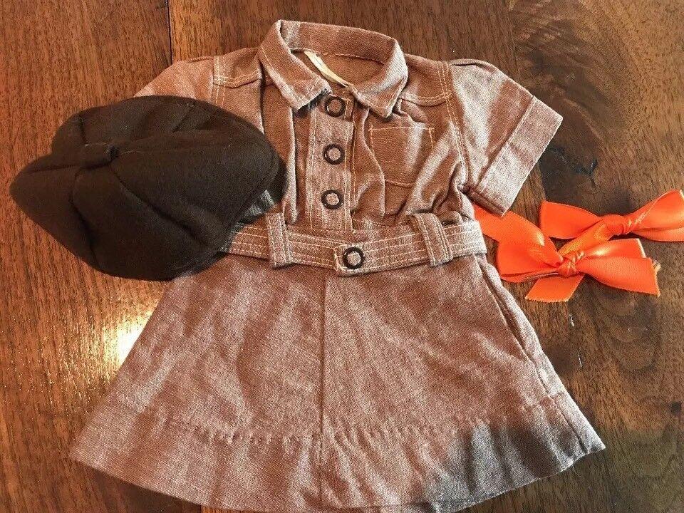 Doll Terri Lee Clothing Scouting braunie Uniform  tagged 1950's