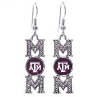 Texas A&m Aggies Mom Hook Earrings