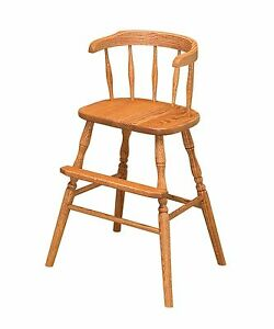 Ebay Dining Room Chairs Amish Chairs Youth High Chair Arm Side Dining Booster Seat ...