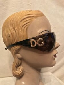 La foto se está cargando Dolce-Gabbana-Marron-Tortuga-DG-Estras-amp-Gafas- b9af38e1ec79