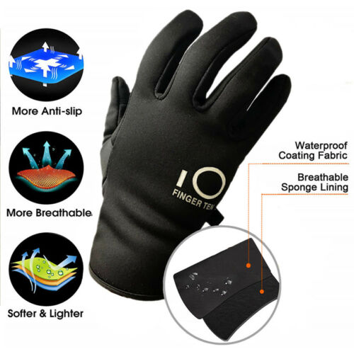 Waterproof Winter Gloves Warm 3M Touchscreen Outdoor Running Cycling Work Snow