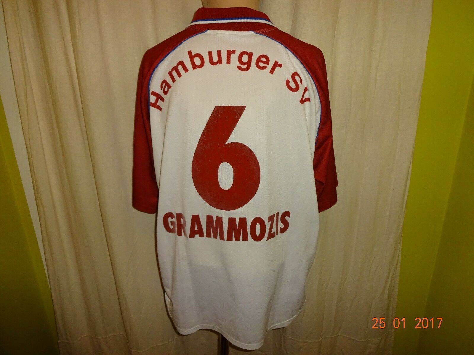 Hamburger SV SV Hamburger Original Fila Trikot 1999/00