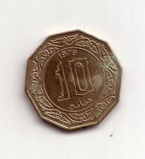 Algeria    10  dinars  1979    BB    (m915)