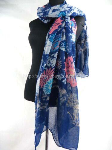 US SELLER-10pcs retro floral sarong large scarf sarong beach cover-up