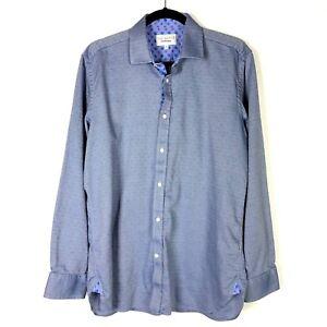 d13795f64a43d Ted Baker Mens Endurance Button Down Dress Shirt Flip Cuff Sleeve ...