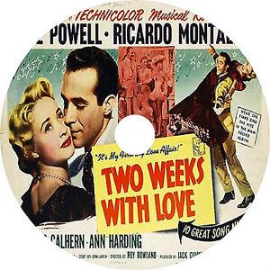 Two-Weeks-with-Love-DVD-Jane-Powell-Ricardo-Montalban-1950-Rare