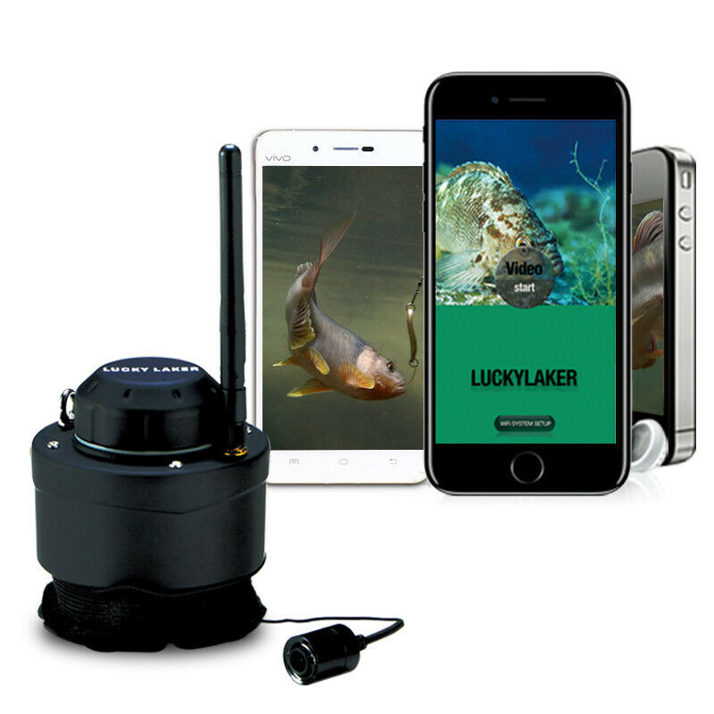 Lucky Wireless Wifi Angeln Unterwasserkamera Fish Finder Recorder von Handy App