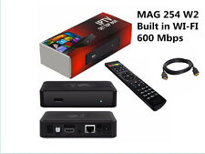 Infomir MAG 254w2 with built-in dual band (2.4 / 5.0 GHz) WiFi (600Mbps) FAST!
