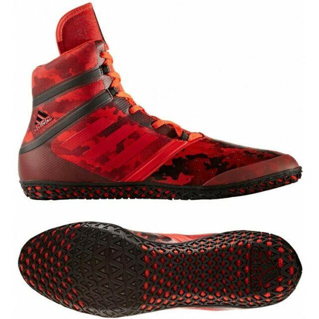 adidas Flying Impact Wrestling Boots Size 10.5 Red RRP £120 Brand New BY1580