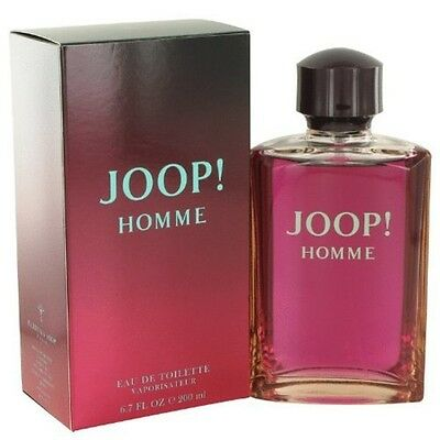 Joop homme man Eau de Toilette Vaporisateur 1 x 200 ml Parfüm Duft Mann NEU
