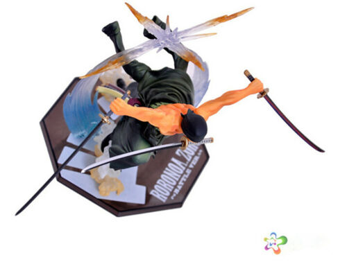 Anime One Piece Roronoa Zoro PVC Action Figure Collection Figurine Toy Gift 21CM