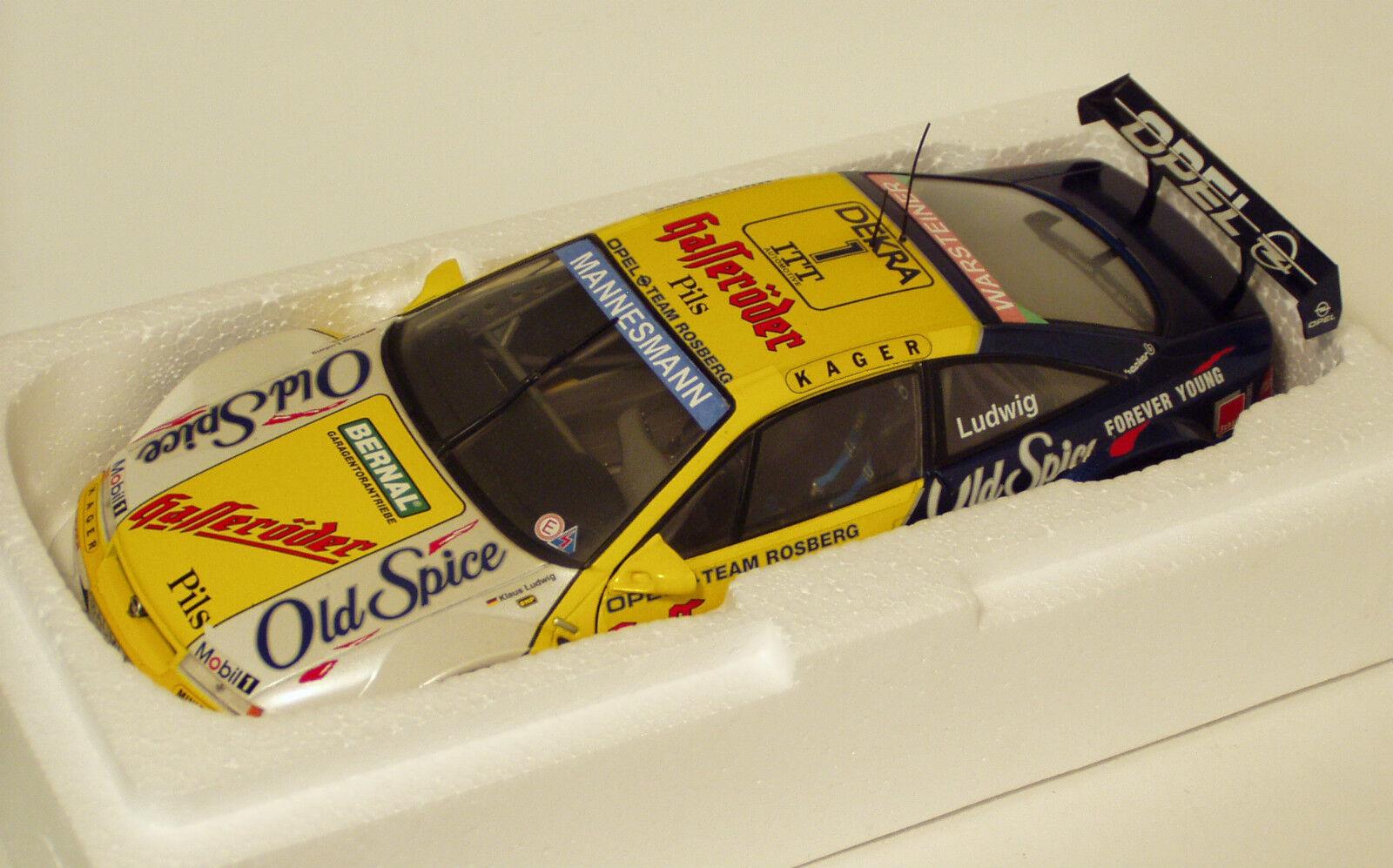 1 18 Opel Calibra Old Spice   Opel Team Rosberg  1995 DTM  K.Ludwig