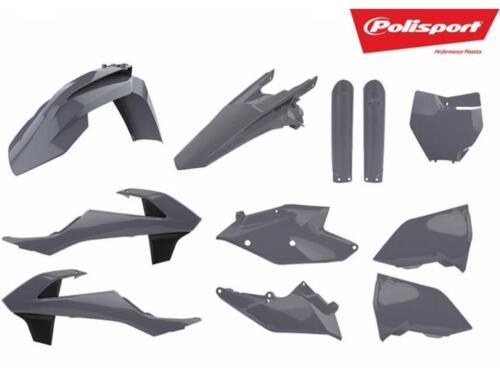 Polisport KTM Plastic Kit Nardo Gray SX SX-F XC XC-F 125 250 350 450 2016-2018