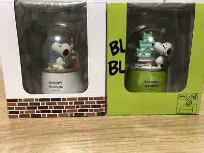 Snoopy Museum Exhibition Osaka Venue Limited Water Dome Snow GlobeDome Object