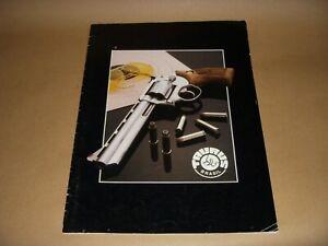 1990 S Taurus Firearms Catalogue-pistolets-afficher Le Titre D'origine Dernier Style