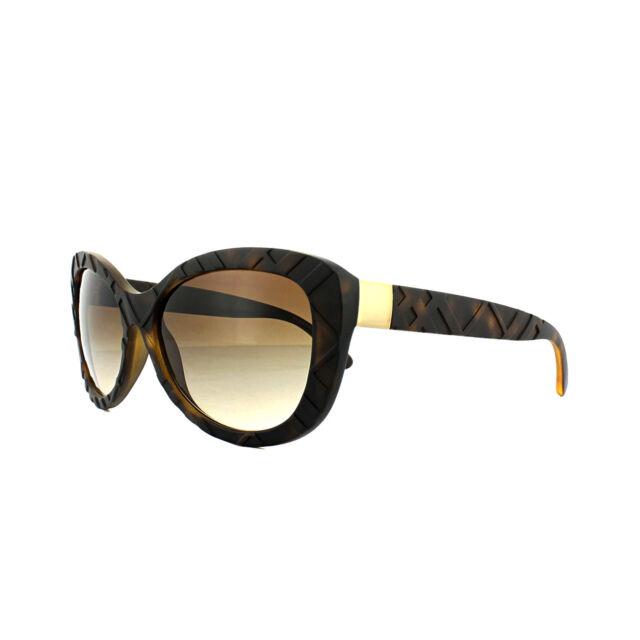 69e556e49937 Burberry Sunglasses Be4217 357813 Matte Dark Havana Brown Gradient ...