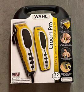 wahl groom pro total body hair clipper grooming kit men