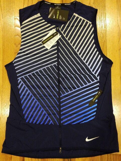 054d601864 Nike Mens Aeroloft Flash Running Training Vest 859208 XLarge XL