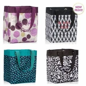 Image is loading New-essential-storage-tote-thirty-one-shopping-bag-  sc 1 st  eBay & New essential storage tote thirty one shopping bag 31 sketchy dot n ...