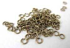 Antiqued Brass Ox Open Jump Ring 4mm 22 gauge