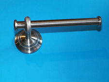 NEW TOILET PAPER HOLDER BRUSHED NICKEL WITH MOUNTING HARDWARE RV CAMPER BOAT