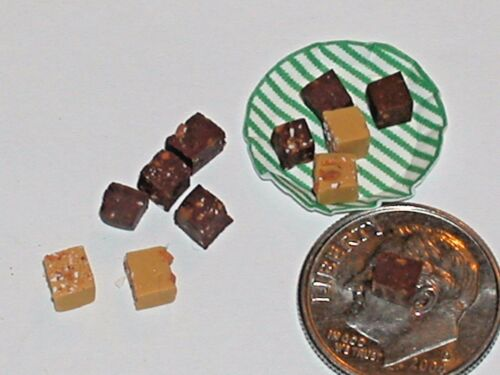 10pc miniature dollhouse bubble gum red Hearts 3d Candy valentines day tiny food