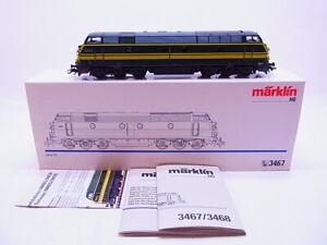 70692-Marklin-H0-3467-Locomotive-Diesel-Serie-55-la-Sncb-Numerique-IN-Ovp