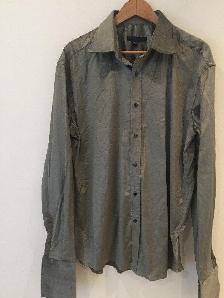 Pose London Off Light Green Shirt UK XL