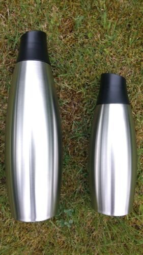 Water Bottle Stainless Steel *One Click Cup® *Gym Car Hike *Leak Proof Mug Flask