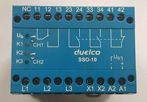 DUELCO-SSO-10-Stop-Monitor-Stillstandswaechter-Top-Zustand-worldwide-RECHNUNG