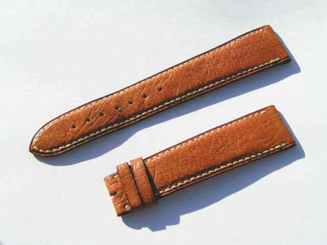Blancpain Leder Uhrenarmband Kalb braun Strap calf brown 19mm 19/16 75/115 I113