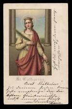 antica cartolina S.CATERINA V.M.