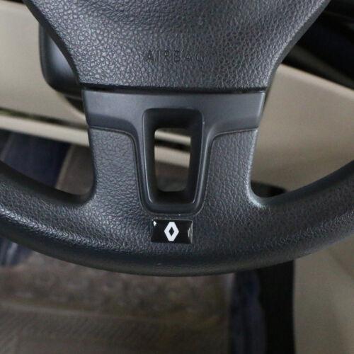 4Pcs Car Steering wheel Sticker Emblem Badge Logo Interior Fits for Renault