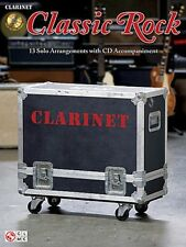 *NEW* CLASSIC ROCK PLAY-ALONG + CD Clarinet GLEE Music