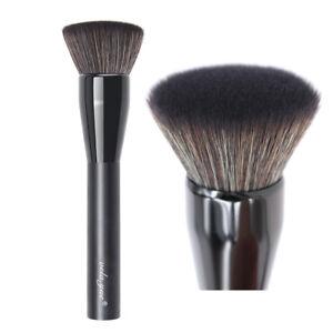 77d7b89b376f Professional Powder Foundation Brush Flat Top Kabuki Face Buffing ...