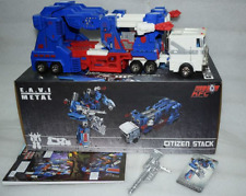 New Transformers KFC Masterpiece Citizen Stack v2 Ultra Magnus in stock MISB