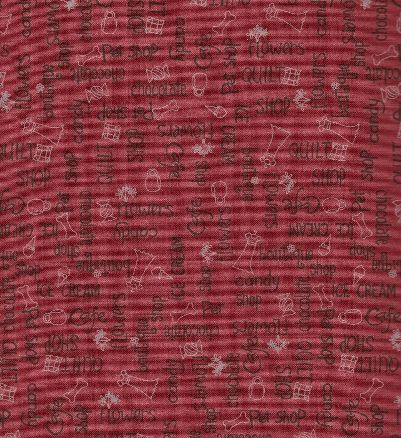 AROUND TOWN 24098 by Whimsicals of Red Rooster 1//2 YARD