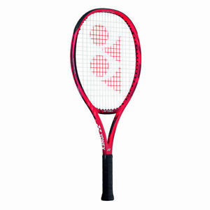100 Square Inches Graphite Yonex Vcore 25 Tennis Racquet Strung Flame Red