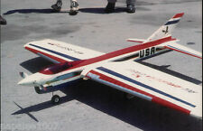 """Model Airplane Plans (UC): All-AMERICAN EAGLE 56""""ws Stunt for .35 by Dave Gierke"""