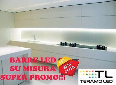 Barra Led Sottopensile Cucina Dimmerabile Touch Su Misura alta luminosità  50/50 | eBay