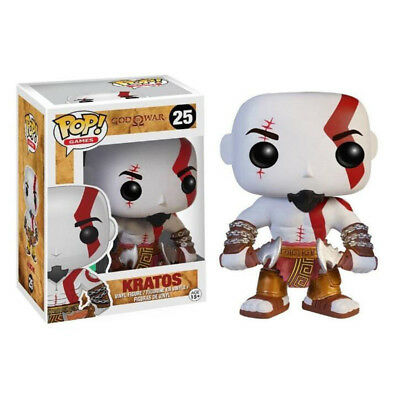 God of War Toy - Kratos White/Blue/Black Funko POP PVC Action Figure With Box