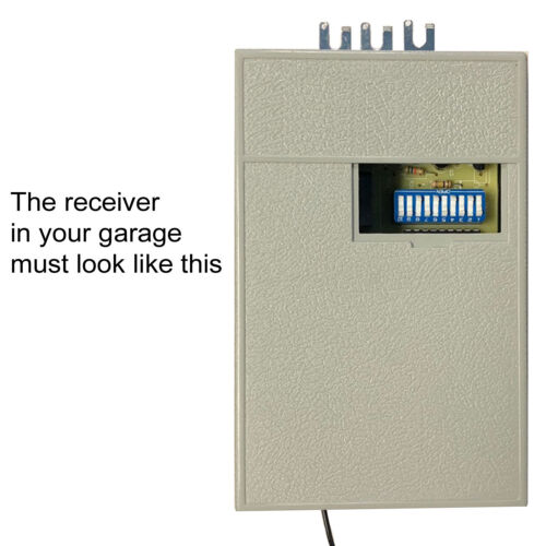For Linear//MultiCode Gate Remote Control Opener 1089//3089//3070//3060//8911 Black