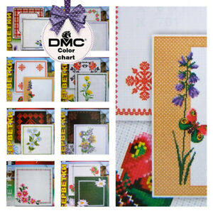 Cross Stitch Embroidery Patterns for Easter Table runner Napkin Tablecloth CA